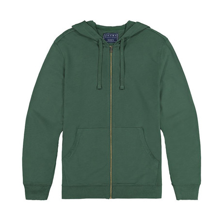 French Terry Zip Hoodie // Sycamore (S)