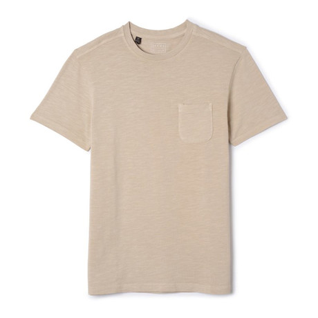 Slub Cotton Pocket Tee // Nimbus Cloud (S)