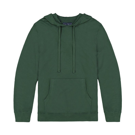 French Terry Pullover Hoodie // Sycamore (S)
