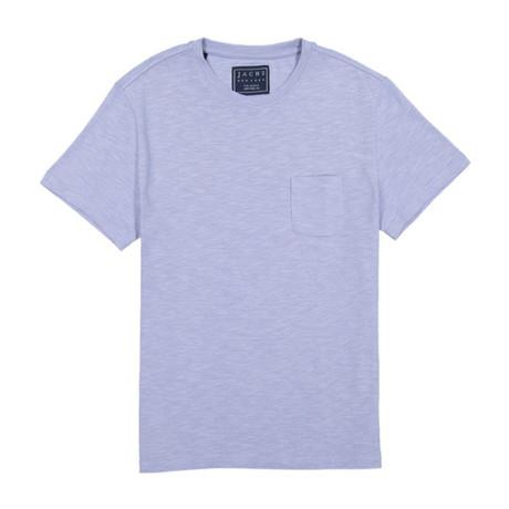 Slub Cotton Pocket Tee // Zen Blue (S)
