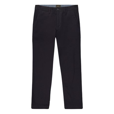 Bowie Straight Fit Stretch Chino Pant // Dark Navy (29WX32L)