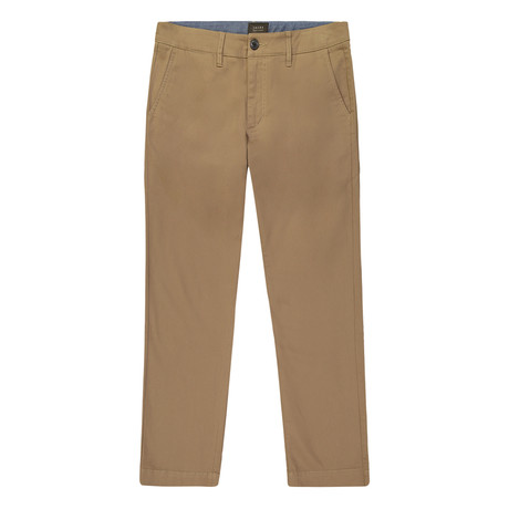 Bowie Straight Fit Stretch Chino Pant // Khaki (29WX32L)