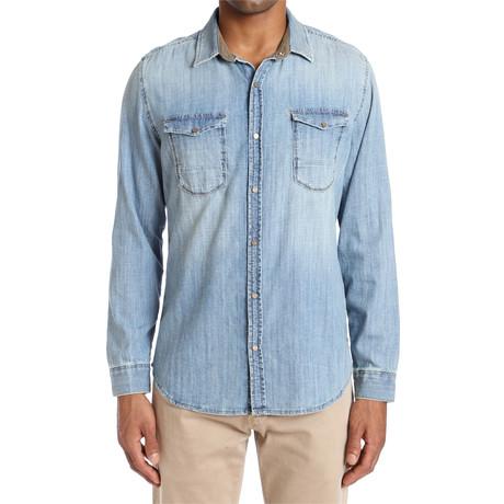 Rio Vintage Shirt // Light Blue (S)