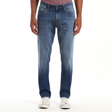 Marcus Mid Brushed Authentic Vintage Jeans // Medium Blue (28WX32L)