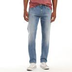 Marcus Ripped Authentic Vintage Jeans // Light Blue (28WX32L)