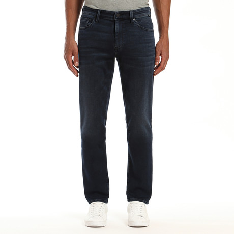 Zach Athletic Jeans // Dark Blue (28WX32L)