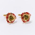 Revolutionary Rose of Lebanon Eternal Cufflinks