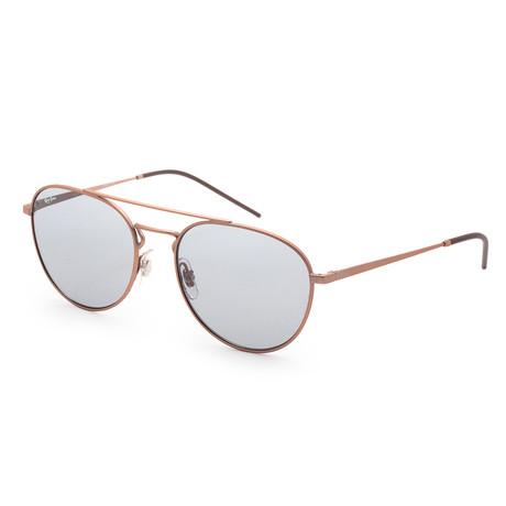 Unisex RB3589-9146-155 Sunglasses // Rubber Copper + Orange