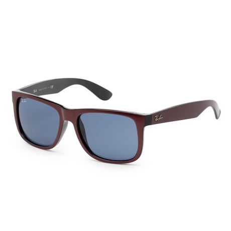 Men's RB4165-64698055 Sunglasses // Bordeaux Metallic + Black