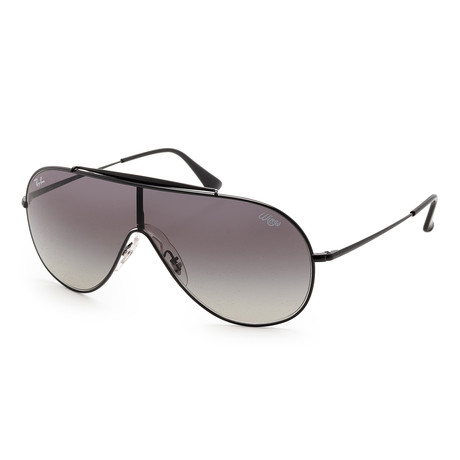 Men's RB3597-002-1133 Sunglasses // Black + Dark Gray Gradient