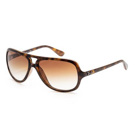 Men's RB4162-710-51 Sunglasses // Light Havana + Crystal Brown Gradient
