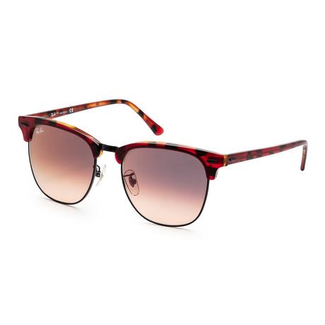 Unisex RB3016F-12753B55 Sunglasses // Havana Orange + Pink. Violet Gradient