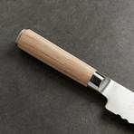 "Classic Blonde // Bread Knife // 9"""