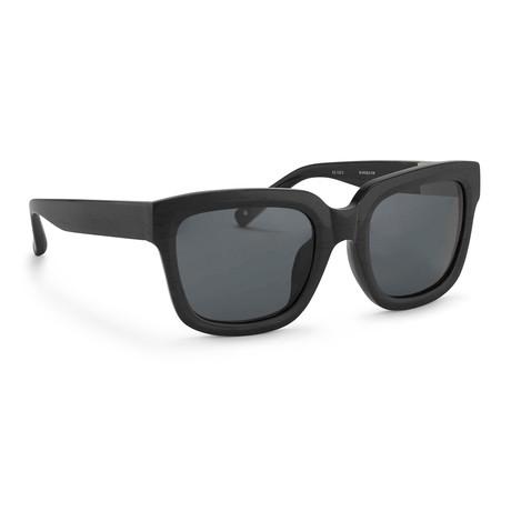 Men's PL51C3 Sunglasses // Black + Gray