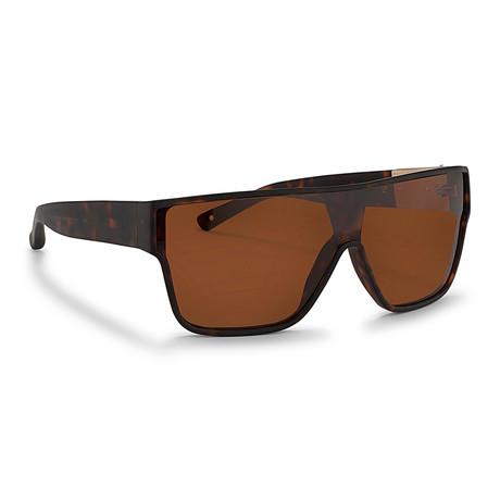 Men's PL50C2 Sunglasses // Dark Tortoise + Bronze Mirror