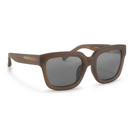 Men's PL51C5 Sunglasses // Frosted Smoke + Gray