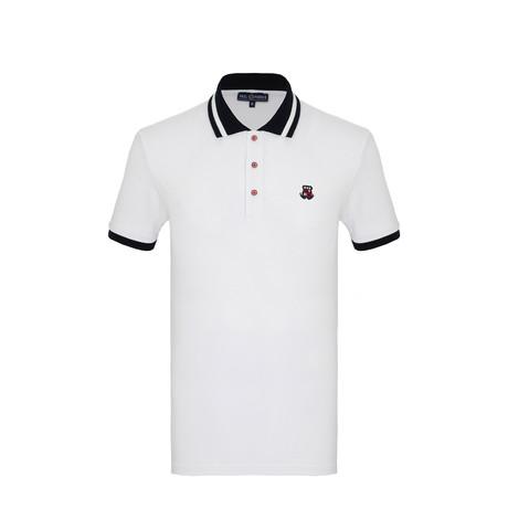 Nico Short Sleeve Polo Shirt // White (S)
