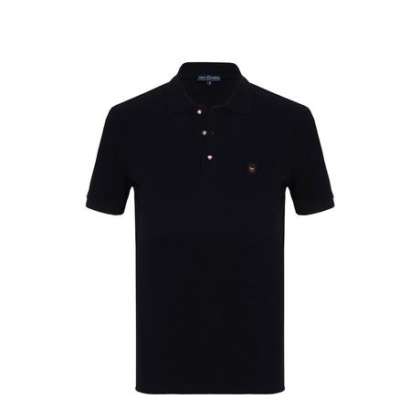 Buller Short Sleeve Polo Shirt // Navy (S)