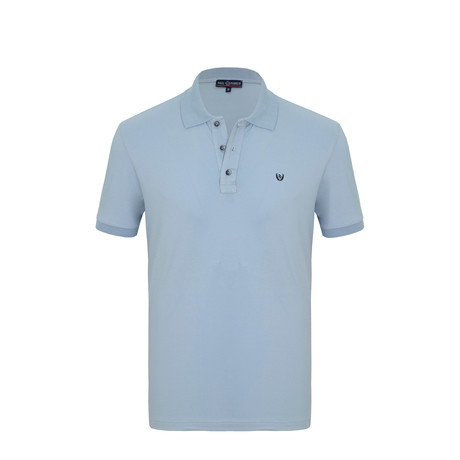 Patrick Short Sleeve Polo Shirt // Light Blue (S)