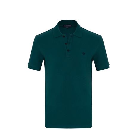 Alex Short Sleeve Polo Shirt // Green (S)