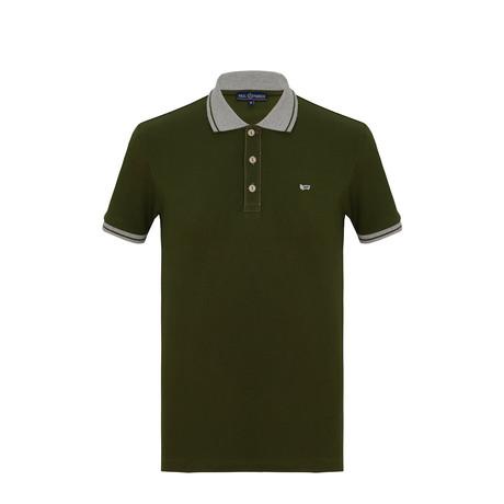 Will Short Sleeve Polo Shirt // Army Green (S)