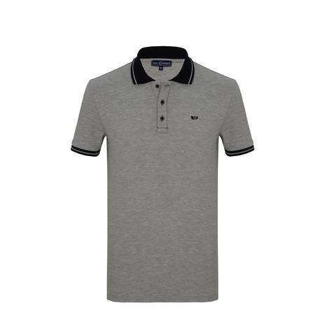 Steve Short Sleeve Polo Shirt // Gray (S)