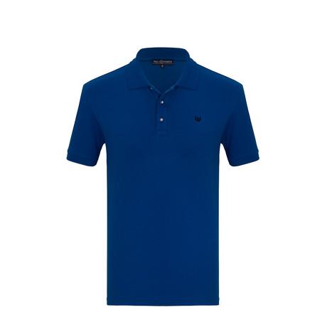Parker Short Sleeve Polo Shirt // Sax (S)