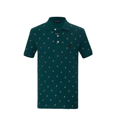 Max Short Sleeve Polo Shirt // Green (S)