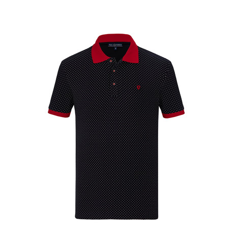 Phillip Short Sleeve Polo Shirt // Navy (S)