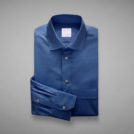 Zephir 1818 Plain Shirt // Blue (S)