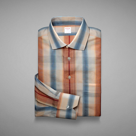 Provence Check Shirt // Red + Blue (S)