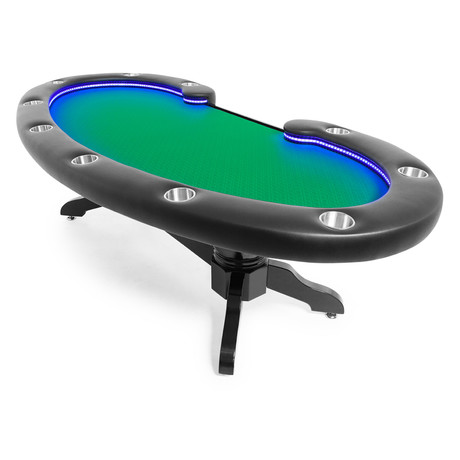 Lumen Poker Table // Suited Speed (Green)