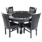 Nighthawk Poker Table // Suited Speed (Black)