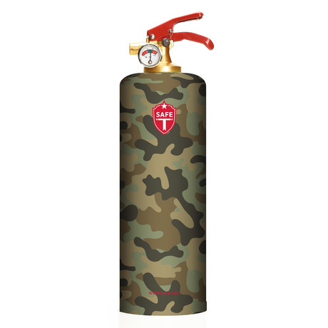 Safe-T Design Fire Extinguisher // Army