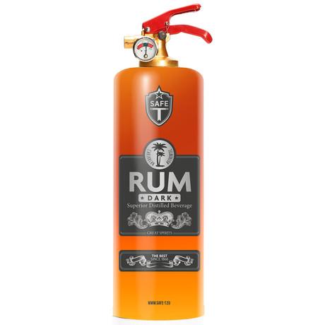 Safe-T Design Fire Extinguisher // Rum