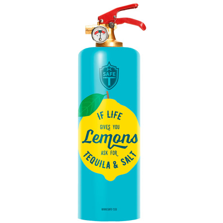 Safe-T Design Fire Extinguisher // Tequila