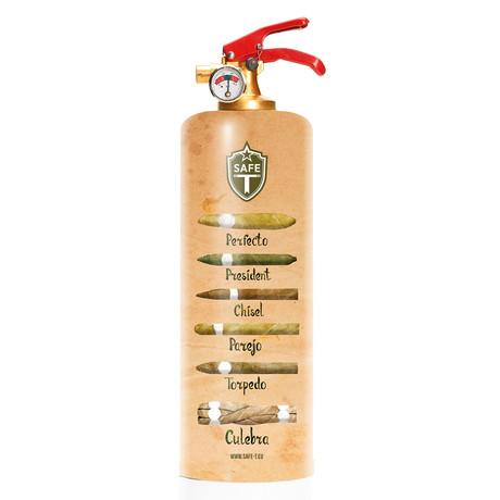 Safe-T Design Fire Extinguisher // Cigars