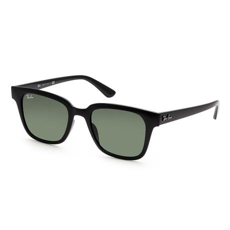 Unisex RB4323F-601-3151 Sunglasses // Black + Green