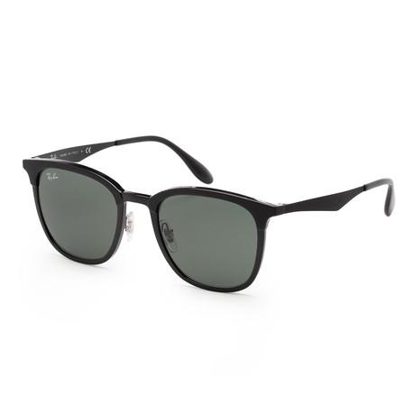 Unisex RB4278-62827151 Sunglasses // Matte Black + Green
