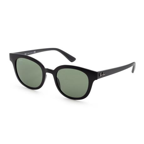 Unisex RB4324F-601-3150 Sunglasses // Black + Green