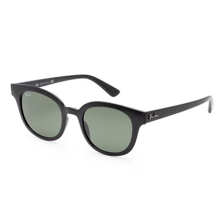Unisex RB4324-601-3150 Sunglasses // Black + Green