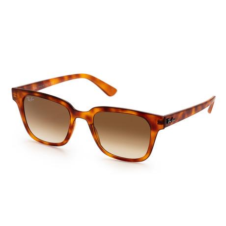 Unisex RB4323-64755151 Sunglasses // Yellow Light Havana + Brown Gradient