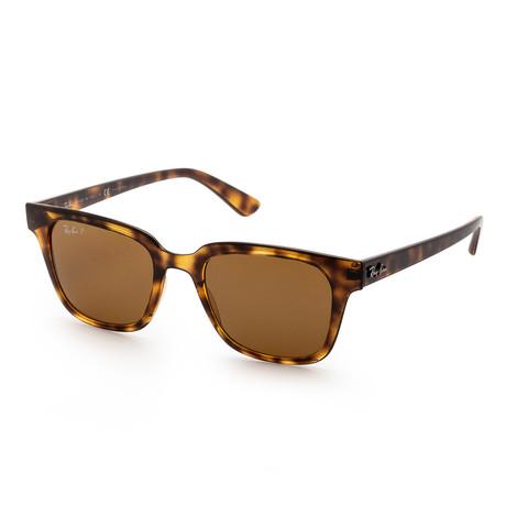Unisex RB4323-710-8351 Polarized Sunglasses // Havana + Brown