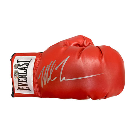 Mike Tyson // Autographed Collectible // Everlast Boxing Glove