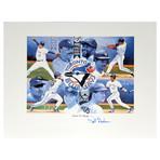 Pat Borders // Autographed Lithograph // Toronto Blue Jays // World Series MVP