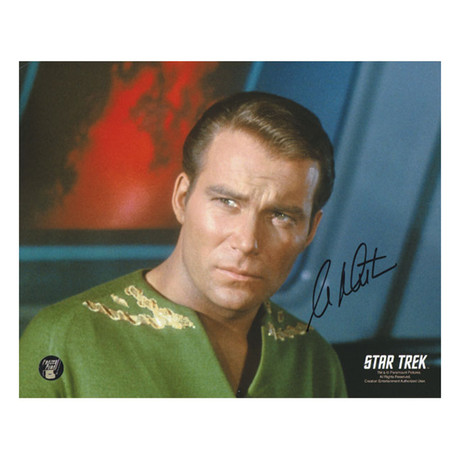 William Shatner // Autographed Collectible // Captain Kirk