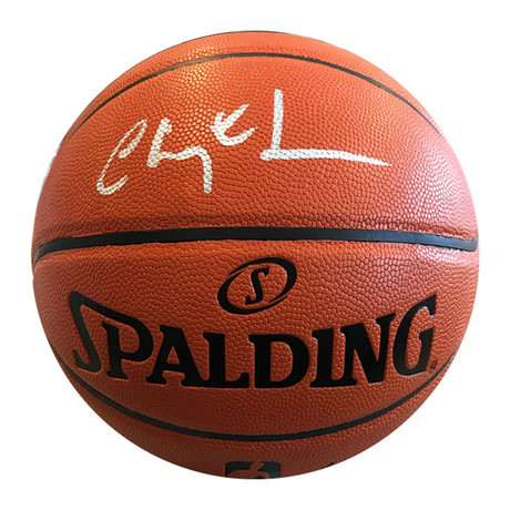 Chevy Chase // Autographed Collectible // Spalding Basketball