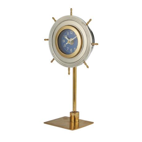 Skipper Table Clock // Aluminum