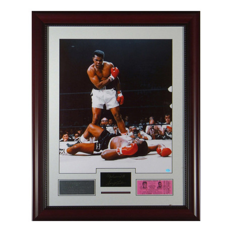 Ali vs. Liston // Engraved Signature Series