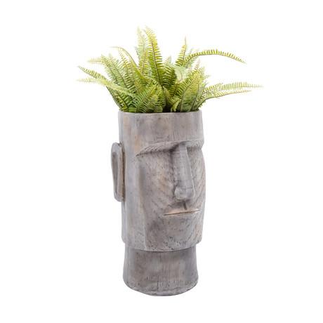 "Lithic Island // Indoor + Outdoor Planter (18""H)"